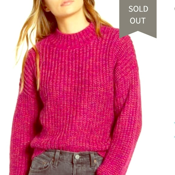 Band of Gypsies Sweaters - NWT Band of Gypsies pink sweater - M
